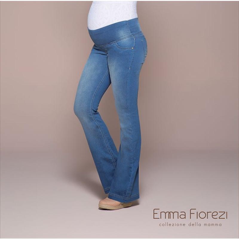 2370f0d34e8868 Calça Jeans Flare Gestante. Emma Fiorezi. 111801105