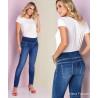 Calça Jeans Gestante Skinny