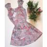 Camisola Floral. Dressy